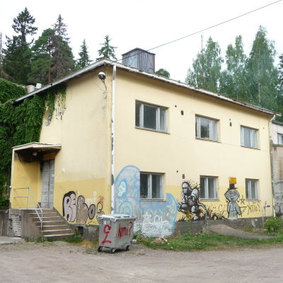 Borgbackens replokal i Borgå