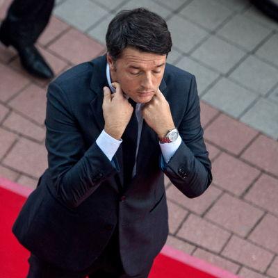 Italiens avgående premiärminister Matteo Renzi.