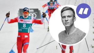 Pål Golberg jublar (bylinebild).
