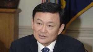Thaksin Shinawatra som premiärminister i Thailand 2005.