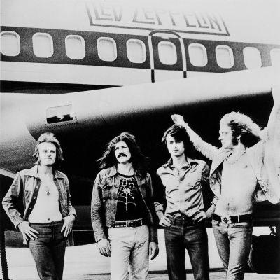 Led Zeppelin vuonna 1973