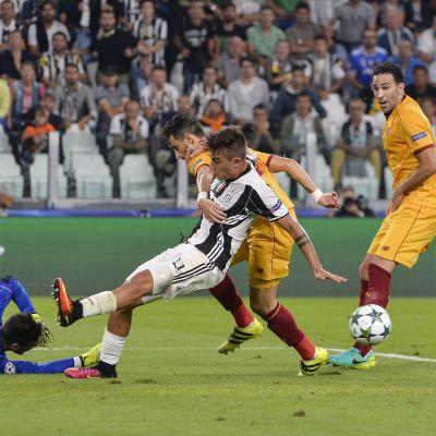 Sevilla och Juventus möttes den 14 september i Turin.