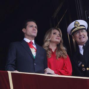 Enrique Peña Nieto och hans fru, skådespelerskan Angélica Rivera var inblandade i flera stora mutskandaler under Peña Nietos ämbetsperiod som tog slut i november i fjol