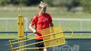 Sami Hyypiä i FC Zürich.