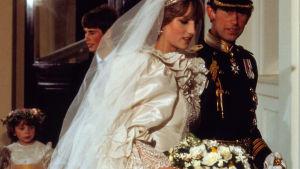 Prinsessan Diana och prins Charles gifte sig 1981