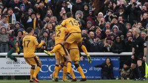 Sutton United är en engelsk fotbollsklubb.
