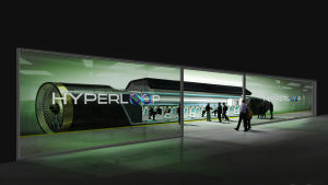 Hyperloop-kapsel.
