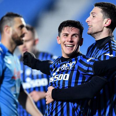 Matteo Pessina gjorde två mål för Atalanta.
