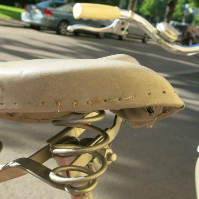 Vanha polkupyörä