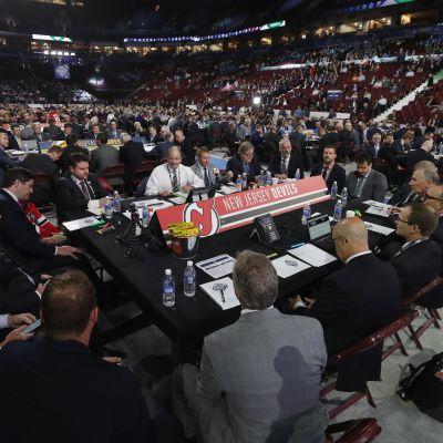 NHL-varaustilaisuus