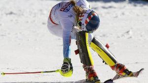 Shiffrin vann VM-guld på hemmaplan.