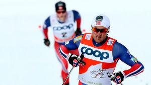 Petter Northug leder Tour de Ski.