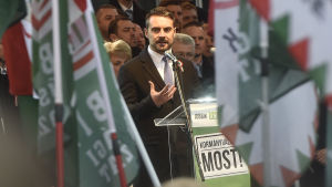 Ytterhögerpartiet Jobbiks ledare Gábor Vona.