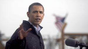 Obama vid mexikanska golfen