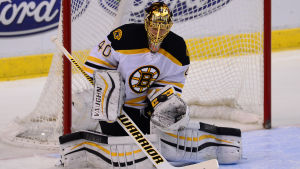 Tuukka Rask i Boston Bruins.