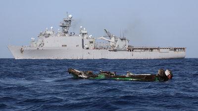 Kinesiska fiskare greps