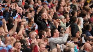Burnely FC fans