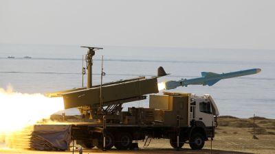 Iran har testskjutit missiler i flera omgångar efter att västvärlden har infört sanktioner.