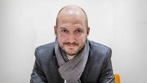 Jonathan Lundqvist, ordförande för Reportrar utan gränser