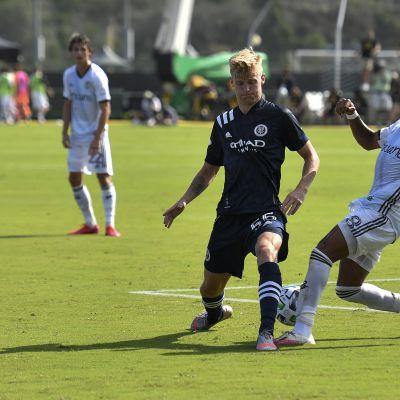 MLS Keaton Parks ja Jose Andres Martinez