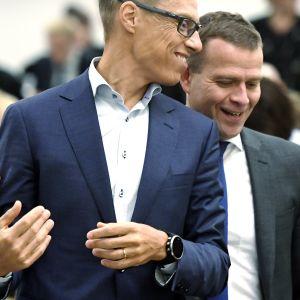 Alexander Stubb och Petteri Orpo.
