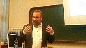 Johan Söderman föreläser