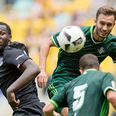 Romelu Lukaku representerar Belgien i fotboll.