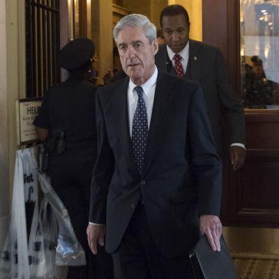 Specialåklagaren Robert Mueller den 21 juni 2017 i Washington