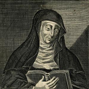 Hildegard av Bingen.