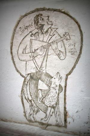 Katutaidetta Pietarissa