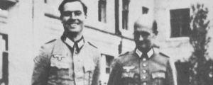 Claus Schenk von Stauffenberg och Albrecht Mertz von Quirnheim år 1944.