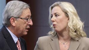 Jean-Claude Junckeroch Jutta Urpilainen 2012.