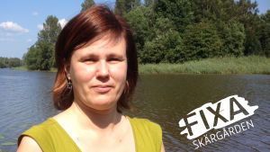Carmela Walder jobbar på Radio Vega Östnyland