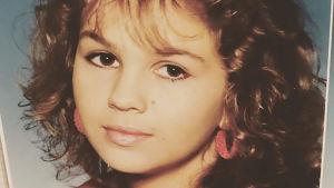 Janina Fry som ung.