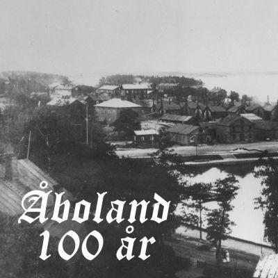 Gammalt fotografi från Dalsbruk.