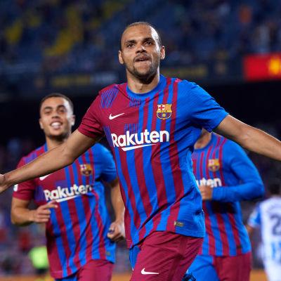 Martin Braithwaite kokosi tehot 2+1 FC Barcelonan voitossa