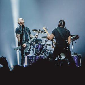 Två av Metallicas medlemmar.