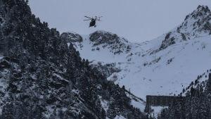 Skidorten Valfréjus i franska Alperna