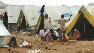 Barn bland dodsoffren vid flygrad mot jemen