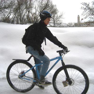 vintercyklist
