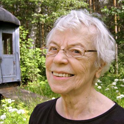Kirjailija, runoilija Aila Meriluoto