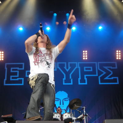 "Martin ""E-Type"" Eriksson live i Göteborg 2008."