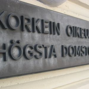 Högsta domstolens byggnad i Helsingfors