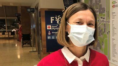 Saija Seppelin, överskötare för akutvården