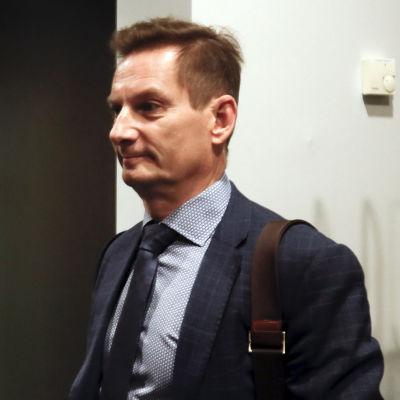 Kai Telanne Pirkanmaan käräjäoikeudessa.