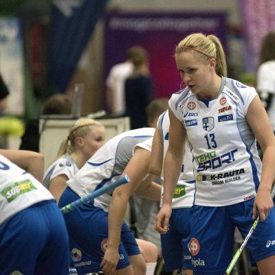 Laura Mertsalmi och Finlands damer laddar för hemma-VM.