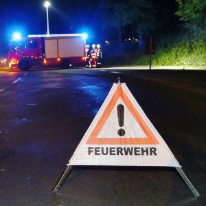 Varningsskylt i Würzburg 19.7.2016