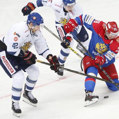 Nye Färjestadsbacken Ilari Melart gjorde sex landskamper under säsongen som gick.