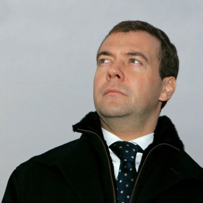 Rysslands president Dmitrij Medvedev