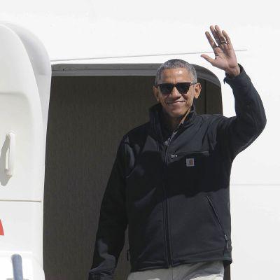 Barack Obaman kahdeksan vuoden virkakausi on loppumassa. Kuvassa presidentti vierailulla Argentiinassa 24. maaliskuuta 2016.